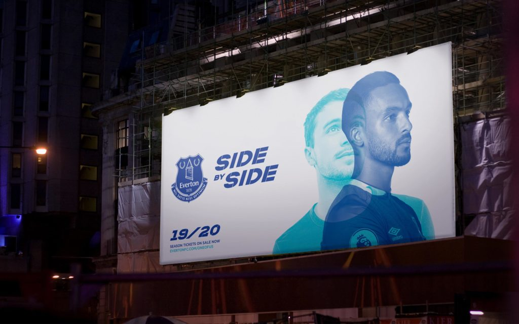Everton FC – Side by Side Image